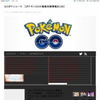 GOポケニュース 【ポケモンGOの最強攻略情報まとめ】